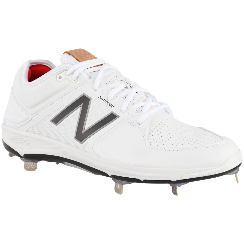 Synthetic Low Cut Metal Baseball Cleats