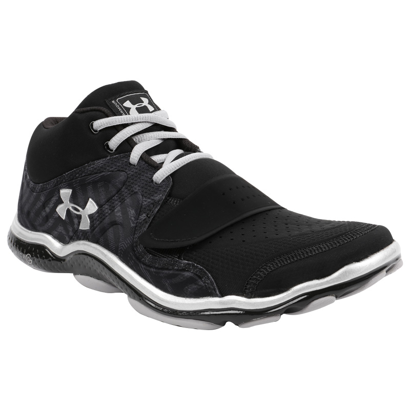 Under Armour 2015 Mens Ua Renegade Training Gloves Support: Under Armour Mens Trainers Black & Silver W/ Improved