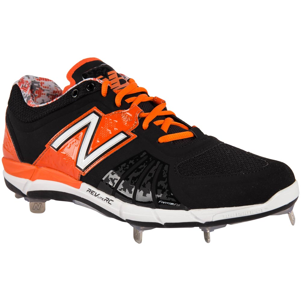 d62555e39 New Balance L3000V2 Men s Low Metal Cleat – Black Orange